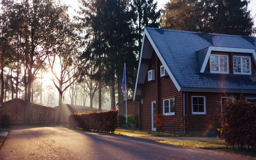 House in the early morning